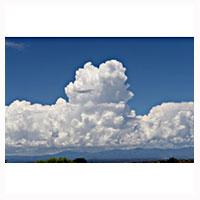 Los Alamos Cumulus Clouds